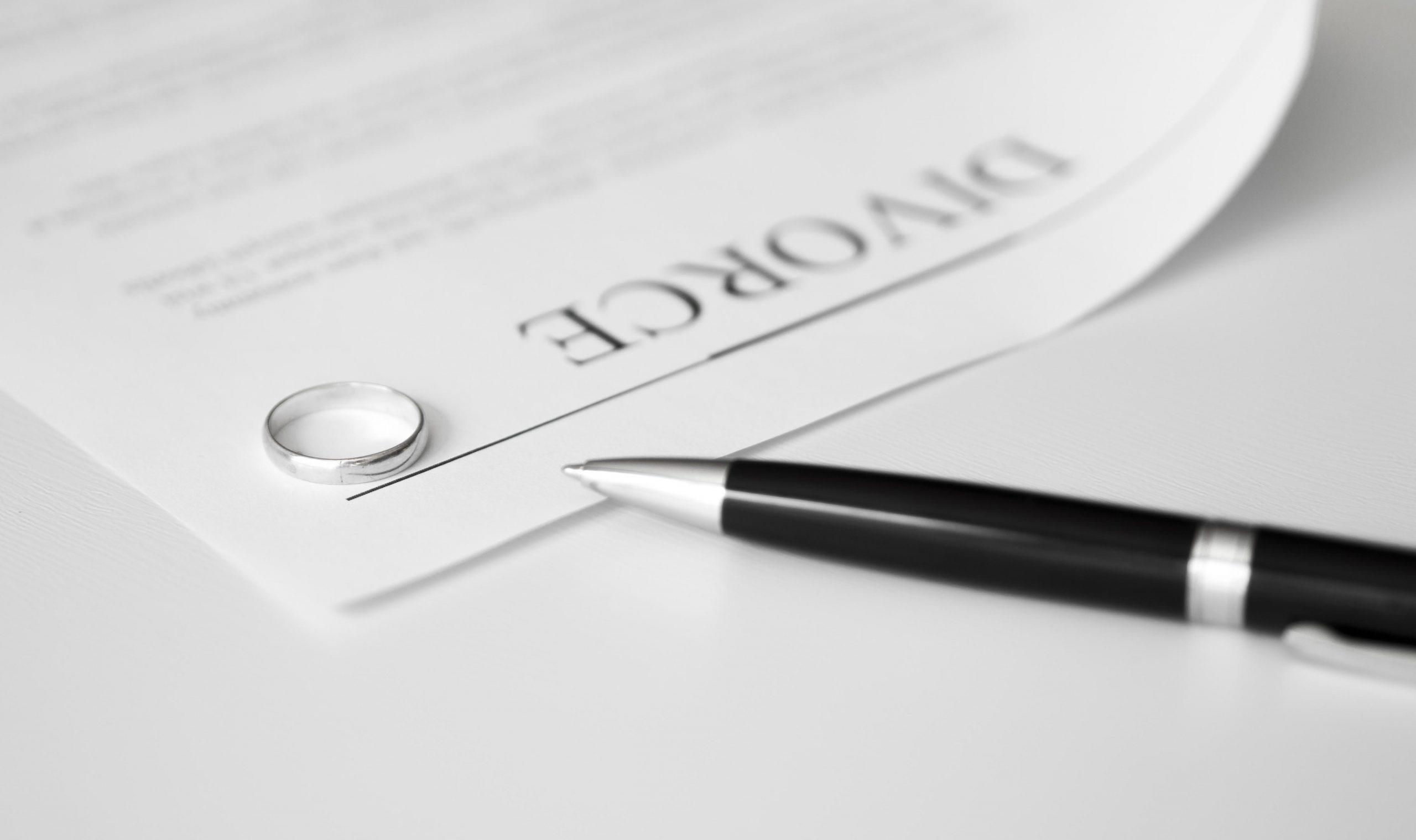 Séparation et divorces